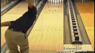 Brunswick C System 4.5 Bowling Ball Video Demonstration | Bowlerstore.com