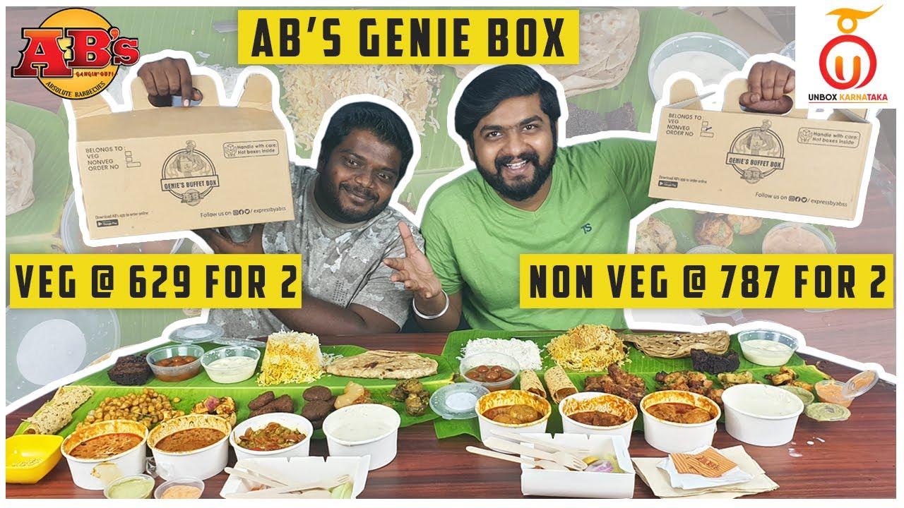 Absolute barbecues Genie Box Review | Barbecue Box | Unbox Karnataka | Kannada Food Review