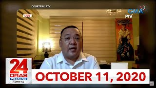 24 Oras Weekend Express: October 11, 2020 [HD]