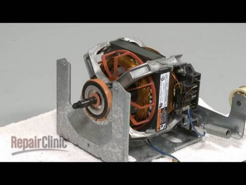 hqdefault whirlpool 27\u201d gas dryer drive motor replacement 279787 youtube  at creativeand.co