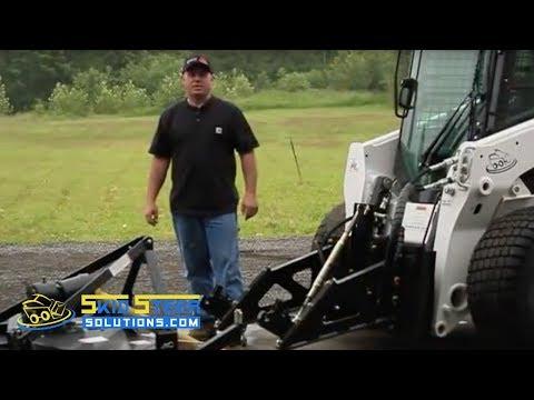 Using Tractor Implements On A Skid Steer Skid Steer
