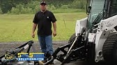 New finish mower by Agmate for MF GC2600 - YouTube