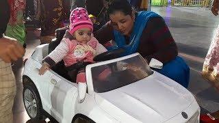 EKAM FIRST TIME DRIVING CAR IN PACIFIC MALL | Punjabi Village Food Factory / Kids Video