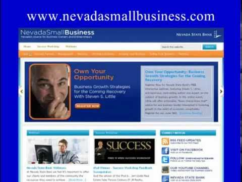 Nevada State Bank Webinar with Steven S. Little - Own Your Opportunity. Watch Now!