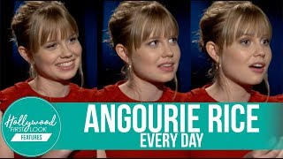 ANGOURIE RICE talks about all the KISSING she did for the role in her film EVERY DAY