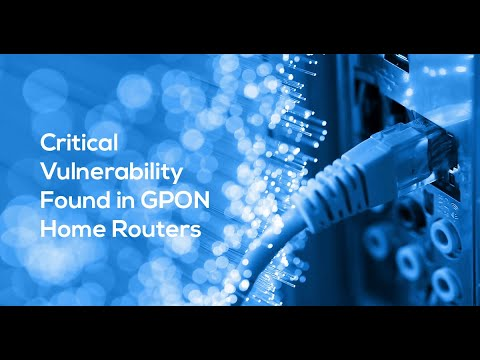 Vulnerabilities Affecting Over One Million Dasan GPON Routers Are