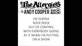 THE ALLERGIES AND ANDY COOPER-'ROCK ROCK' RAP-ALONG VIDEO