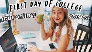 my first day of COLLEGE vlog!