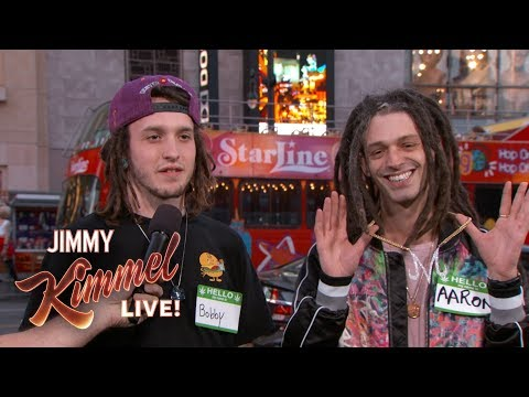 Jimmy Kimmel Guesses Whos High?