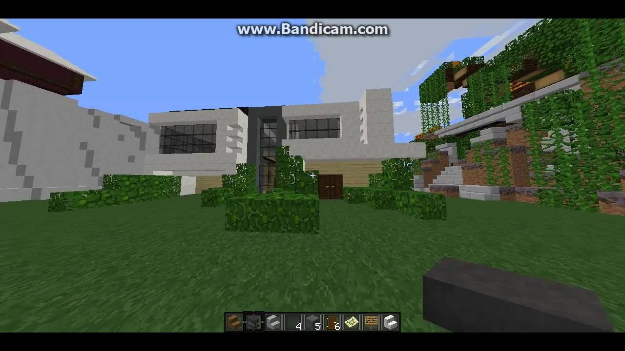 cooltycraft modern house tour this is my home in minecraft youtube rh youtube com