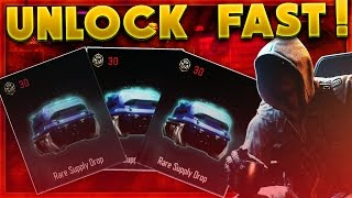HOW TO UNLOCK SUPPLY DROPS FAST! BLACK OPS 3 HOW TO GET CRYPTOKEYS FAST! (BO3 Supply Drops)