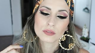 Indian Makeup Inspiration - Maquiagem Estilo Indiana