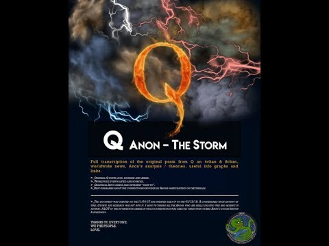 Q Qanon 3/6/2018 @SNOWDEN China?