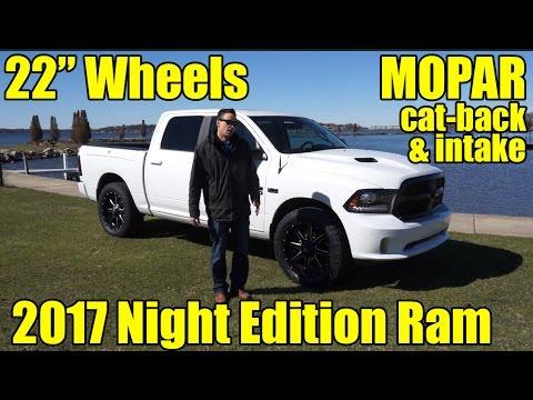 CUSTOM 2017 Ram 1500 NIght Edition! 22
