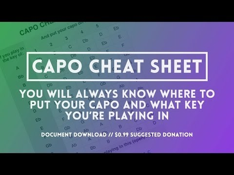 Capos: The Capo Cheat Sheet