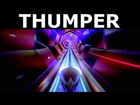 Thumper Gameplay - Level 1 - Walkthrough (No Commentary) (Steam Rhythm Action PC Game 2016)