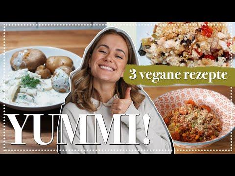 3 vegane Rezepte - Lieblingsessen aus der Kindheit (jetzt aber eben vegan)