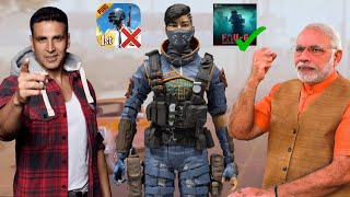 First INDIAN Battle Royale Game FAU-G by Akshay Kumar & MODI JI | FAU-G VS PUBG
