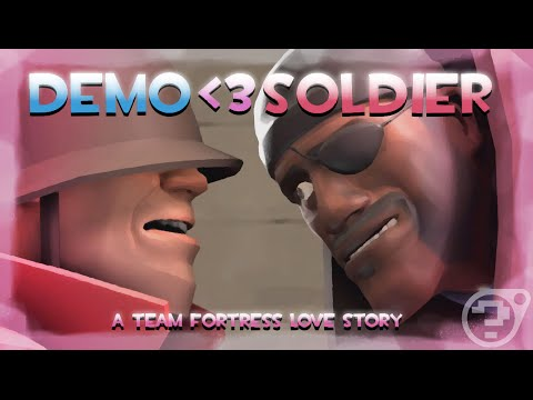 [SFM] Demoman Loves Soldier: A Team Fortress Love Story