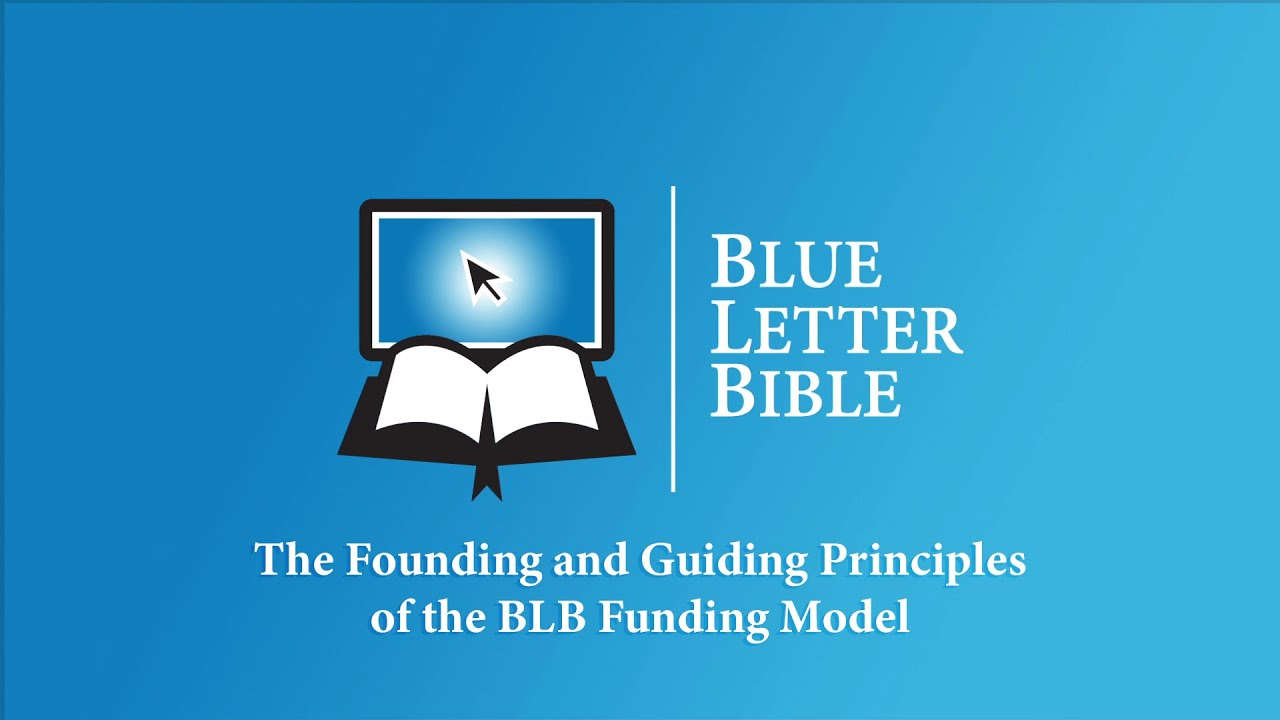 Blue Letter Bible: Donate