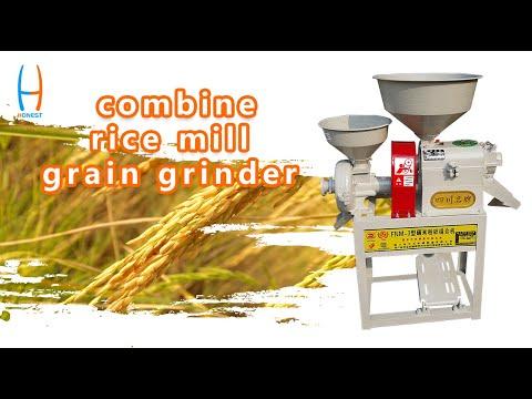 HONEST 6N80-6FP180 rice mill machine and crusher grain grinder