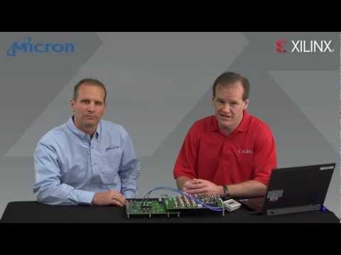 Xilinx/Micron RLDRAM3 Memory Interface Solution