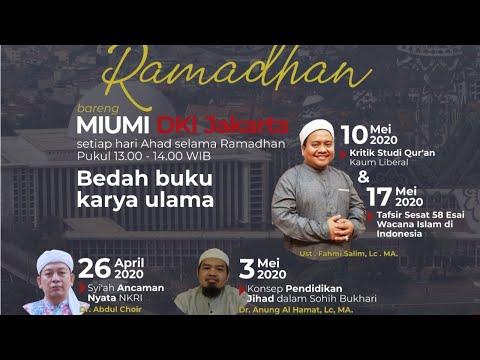 Syiah Ancaman Nyata NKRI - Dr. Abdul Chair Ramadhan SH., MH.