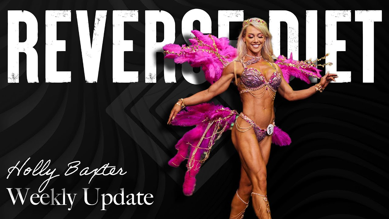 Reverse Dieting with Holly Baxter | Weekly Update | August 24 2021