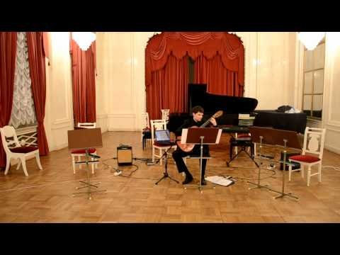 Steve Reich - Electric Counterpoint (excerpt) plays by Anton Glushkin