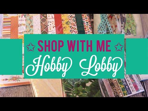 Shop With Me! • Hobby Lobby