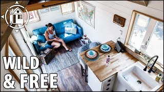 Stunning Tiny House For A Vivacious Retired Cop Seeking Life On The Road