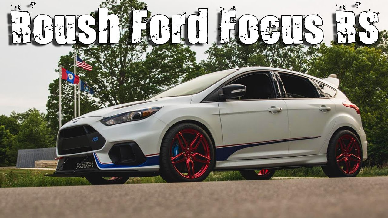 500HP Roush Ford Focus RS On The Red Vossen HC-1 Wheels - YouTube
