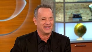 tom hanks on a hologram for the king hilarious 2016 race