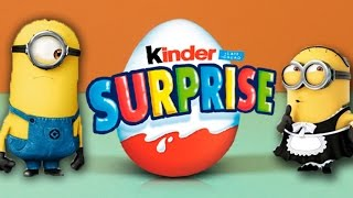 Minions Toy Kinder Surprise Egg | Toys