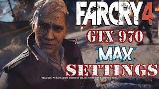 Far Cry 4 Gameplay Walkthrough Ultra Max Settings in 4k Nvidia DSR GTX 970 Gameplay