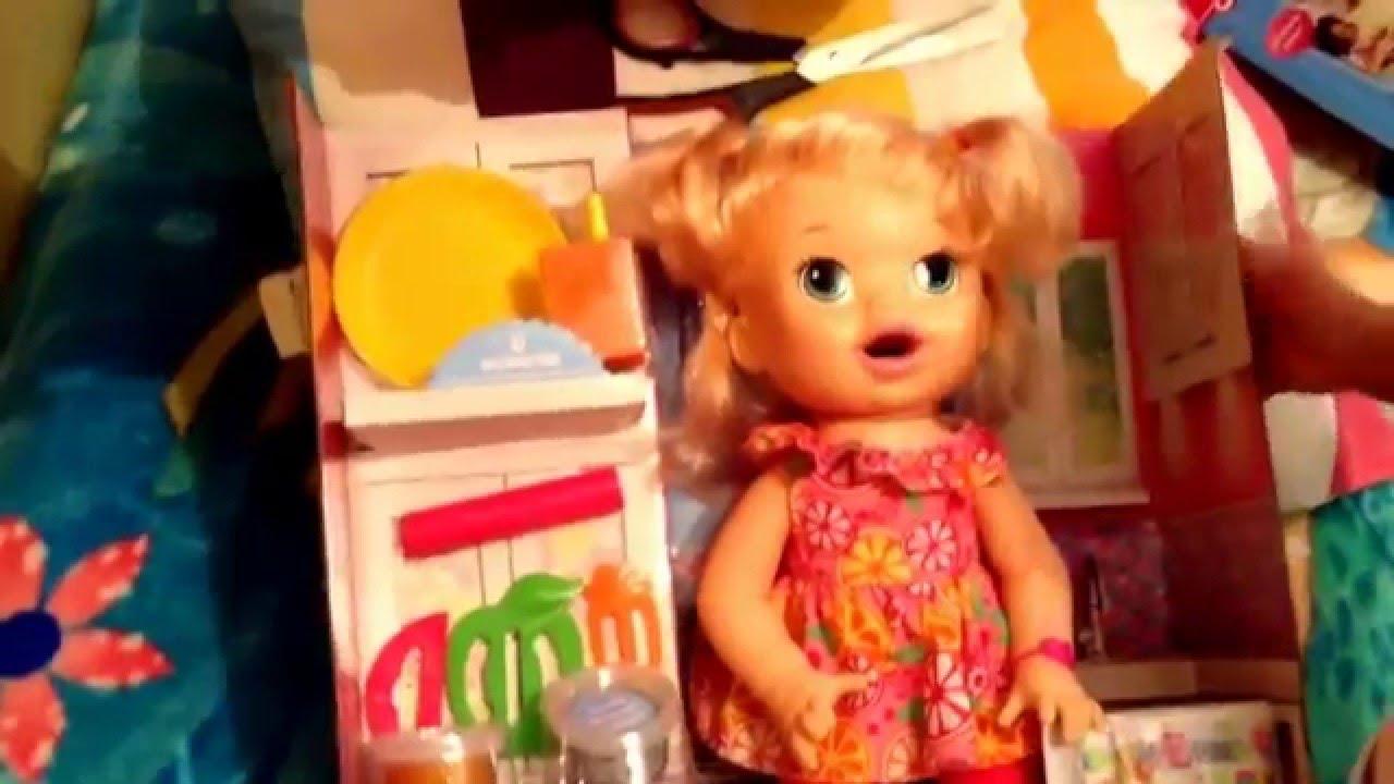 Mu 241 Eca Baby Alive Sara Comiditas Divertidas Youtube