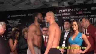 Artur Szpilka vs Bryant Jennings Weigh In & Face Off 2017 Video