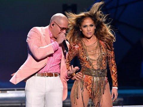 Jennifer Lopez &  Pitbull   Medley  Premios Juventud 2013 on Univision