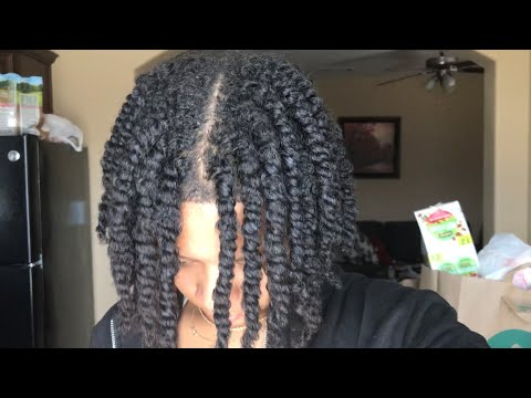 Wash Routine With Two Strand Twists