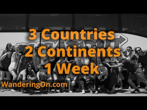 3 COUNTRIES, 2 CONTINENTS, 1 WEEK - Busabout Iberian Adventure Spain, Portugal, Morocco