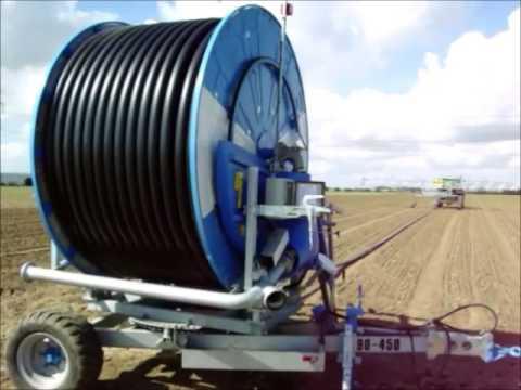 Navodnjavanje Krompira Sa Ocmis Vr6 Tifonom Irrigatio
