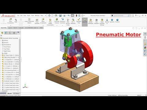 SolidWorks tutorial Pneumatic