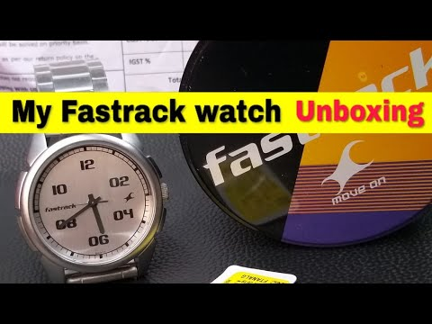 My New Fastrack Watch || Unboxing And Review