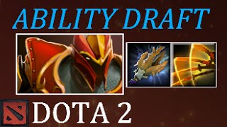 Dota 2 A Non One Sided Ability Draft Game
