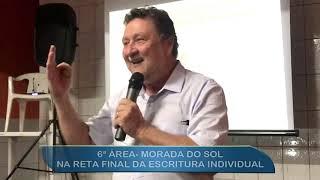6ª ÁREA  MORADA DO SOL - RETA FINAL DA ESCRITURA INDIVIDUAL