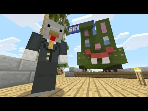 Minecraft Xbox - Sky Den - Rainbow Rabbit Railway (55)