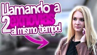 BROMA LLAMANDO A 2 EXNOVIAS AL MISMO TIEMPO! SE PELEAN - TROLLEO