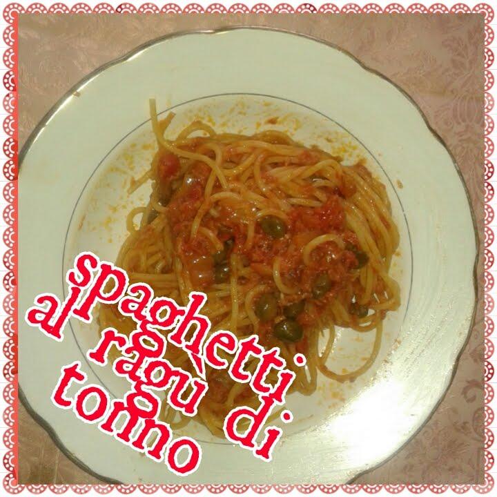 Spaghetti Al Ragu Di Tonno Youtube
