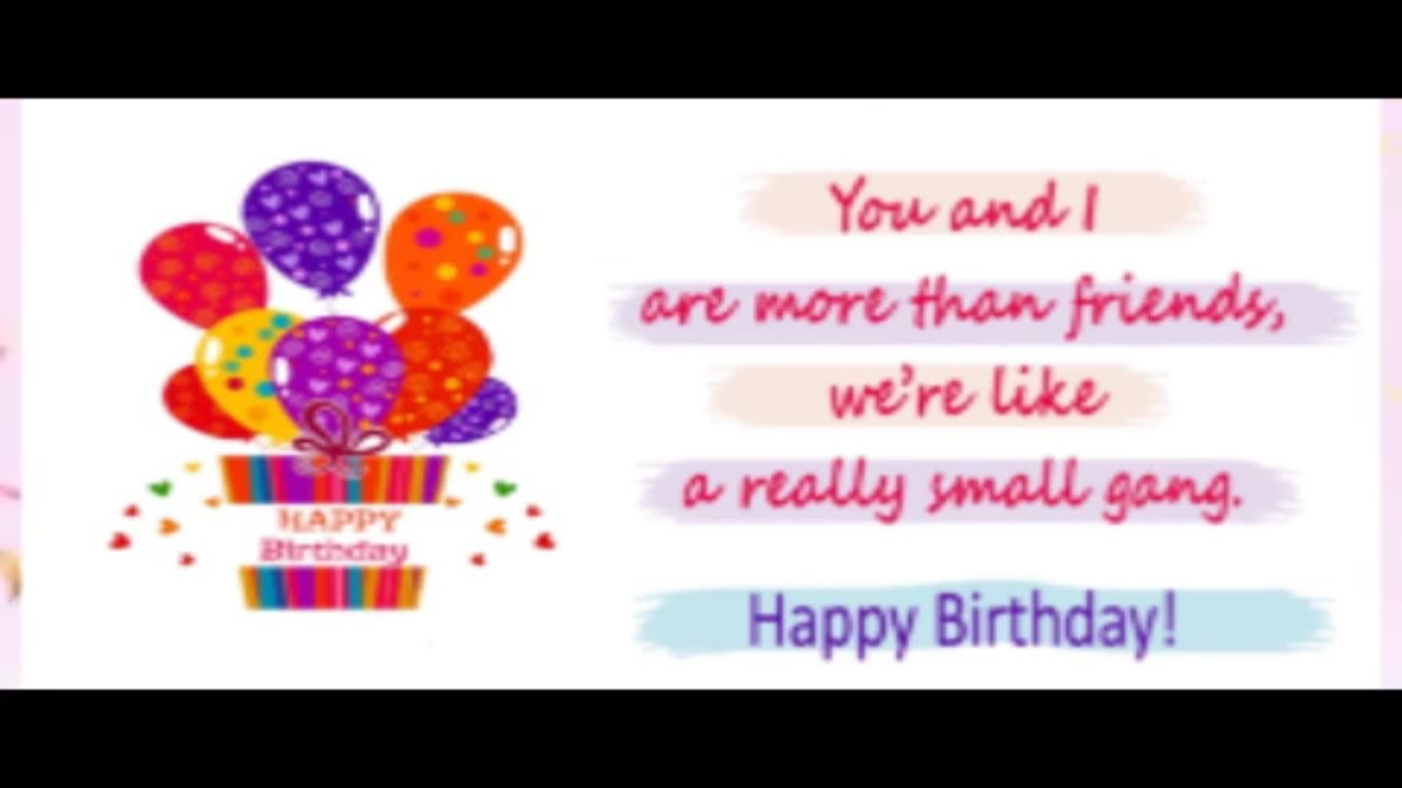 Birthday Message To A Friend Happy Birthday Message Wishes Sms
