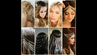 Latest Hair Accessories For Girls College Party and Wedding New 2018 Collection